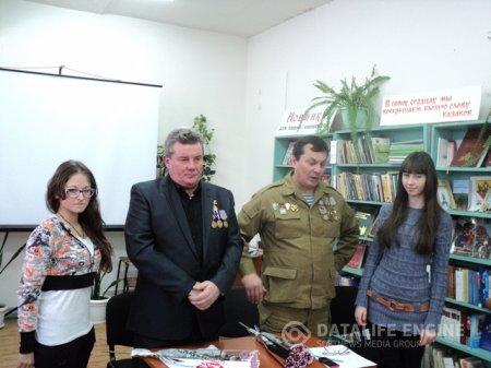 Встреча с воинами-интернационалистами «Время выбирало нас»