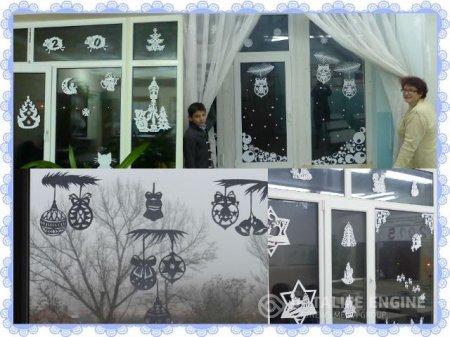 Украшаем Школу к Новогодним праздникам!